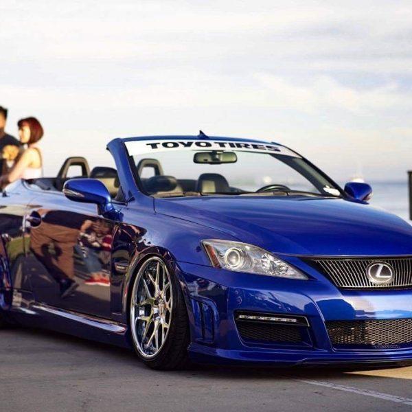 Great 2010 Lexus IS Convertible 2010 Aimgain Widebody
