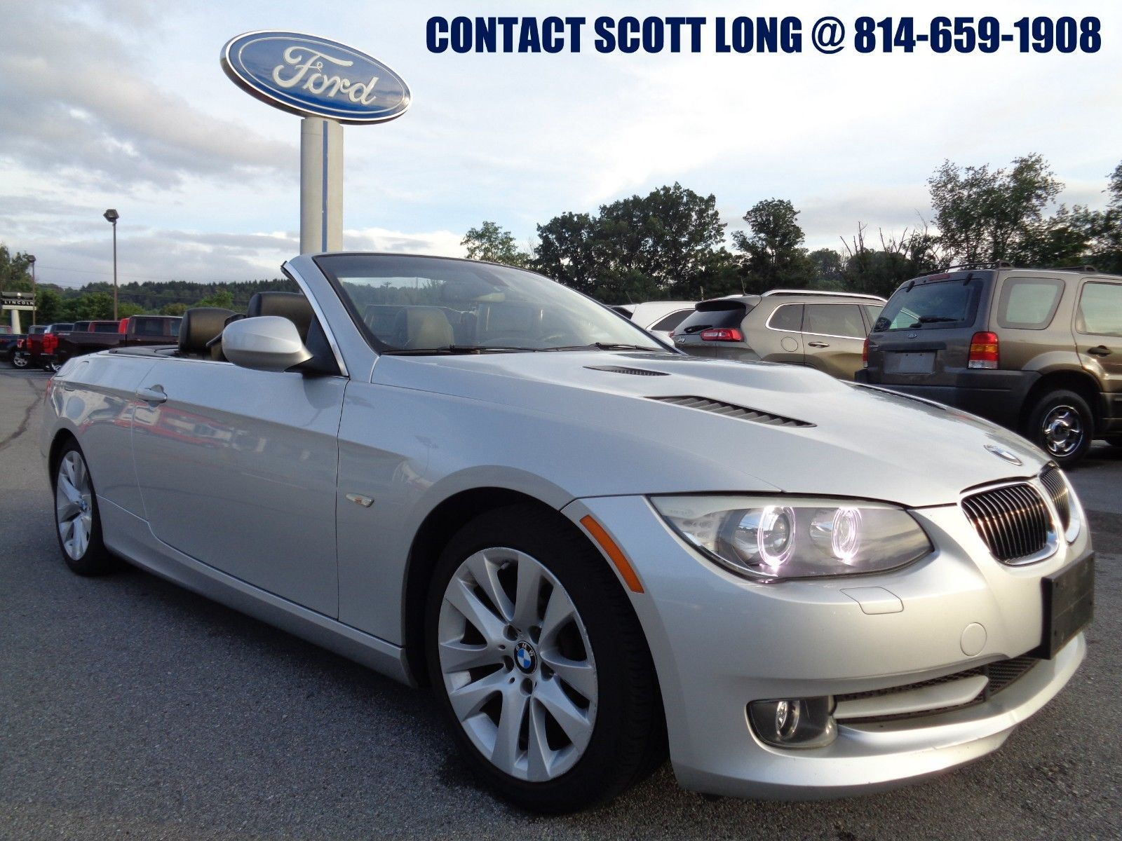 BMW 328I Convertible >> Awesome 2011 Bmw 3 Series 2011 Bmw 328i Convertible Nav Silver 2011 Bmw 328i Hard Top Convertible 3 0l Navigation Power Top Leather Seat Silver 2019