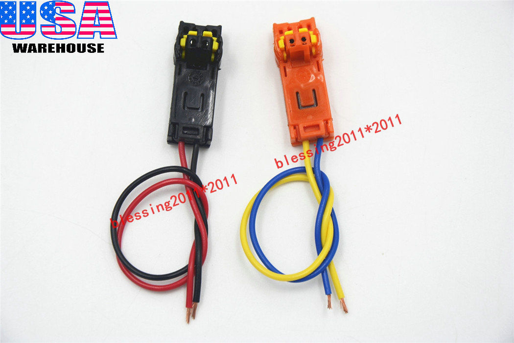 awesome 2x airbag connectors plug clock spring wires for toyota subaru vw  mazda nissan 2018