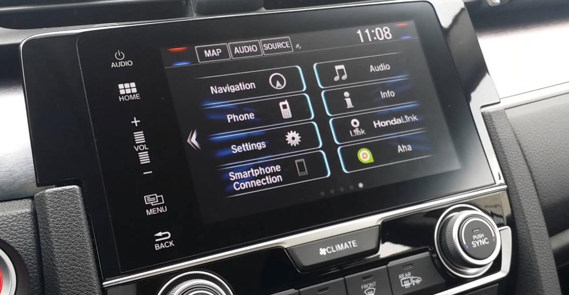 Amazing 2016 2017 2018 Honda civic touch screen direct ...