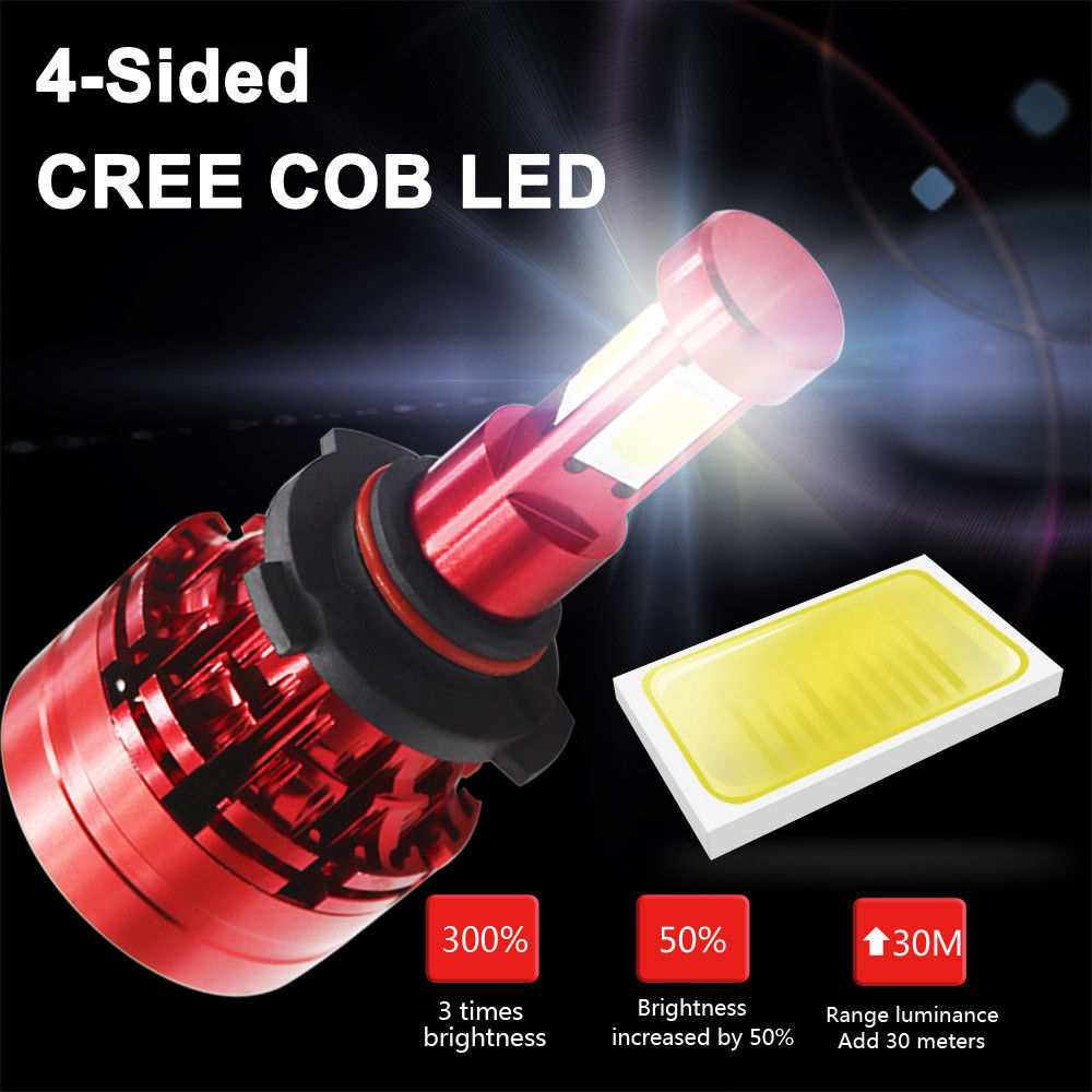 Great Cree LED Headlight Kit 9006 HB4 9012 6000K 1800W 270000LM Fog Bulbs  Pair HID 2018