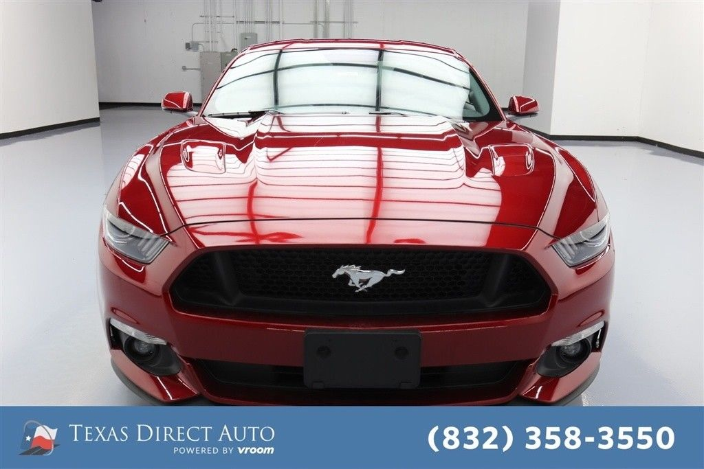 great ford mustang gt texas direct auto 2016 gt used 5l v8 32v automatic rwd coupe premium 2018. Black Bedroom Furniture Sets. Home Design Ideas