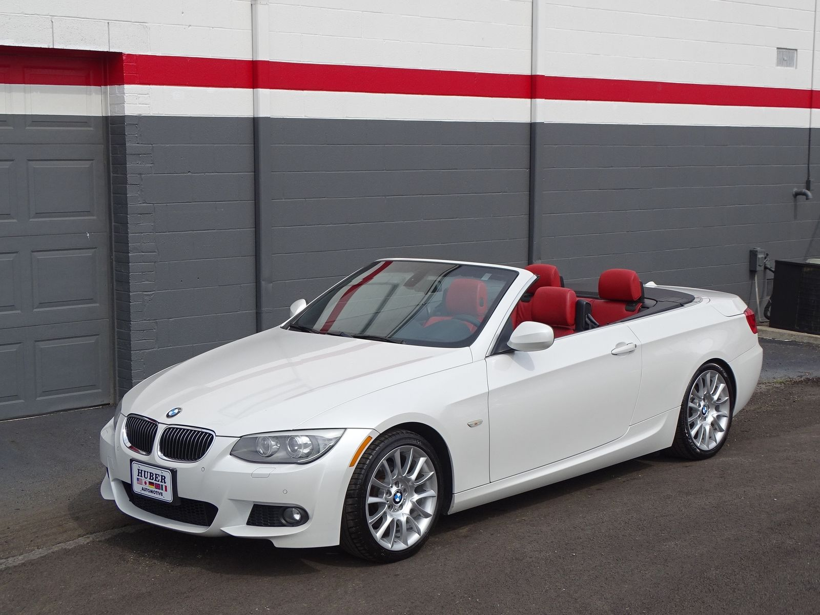 White Bmw Red Interior Convertible Home Plan