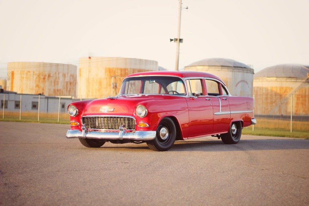 Great 1955 Chevrolet Bel Air150210 Bel Air Freshly Restored 1955