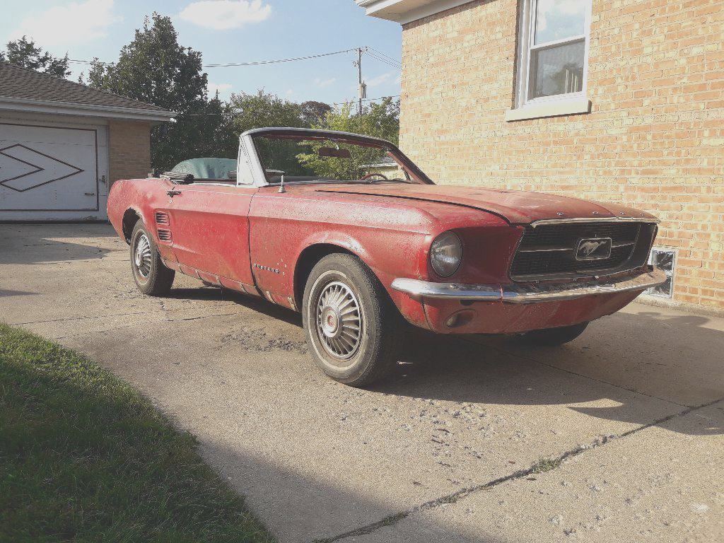 Awesome 1967 Ford Mustang Convertible Project 2018 2019
