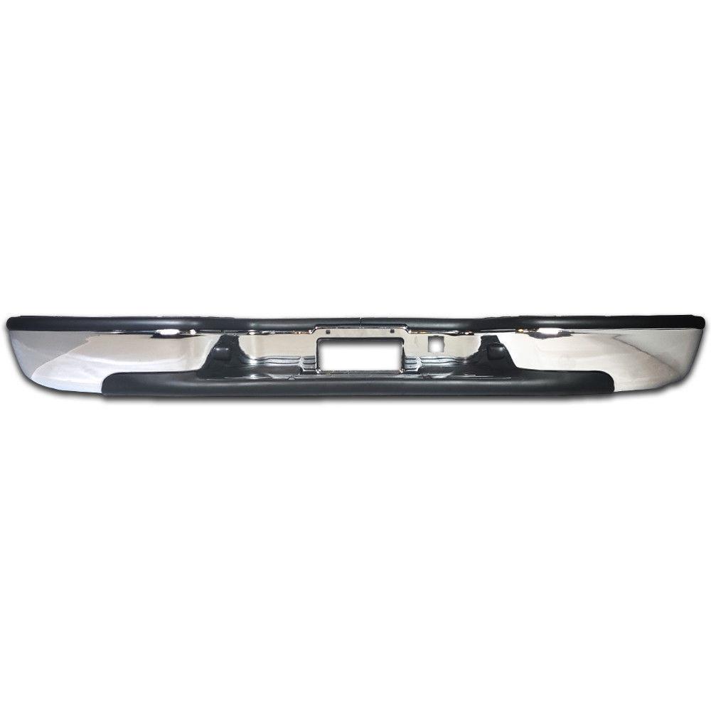 New Steel Chrome Step Bumper Assembly for Chevy Silverado GMC Sierra 1500 99-06