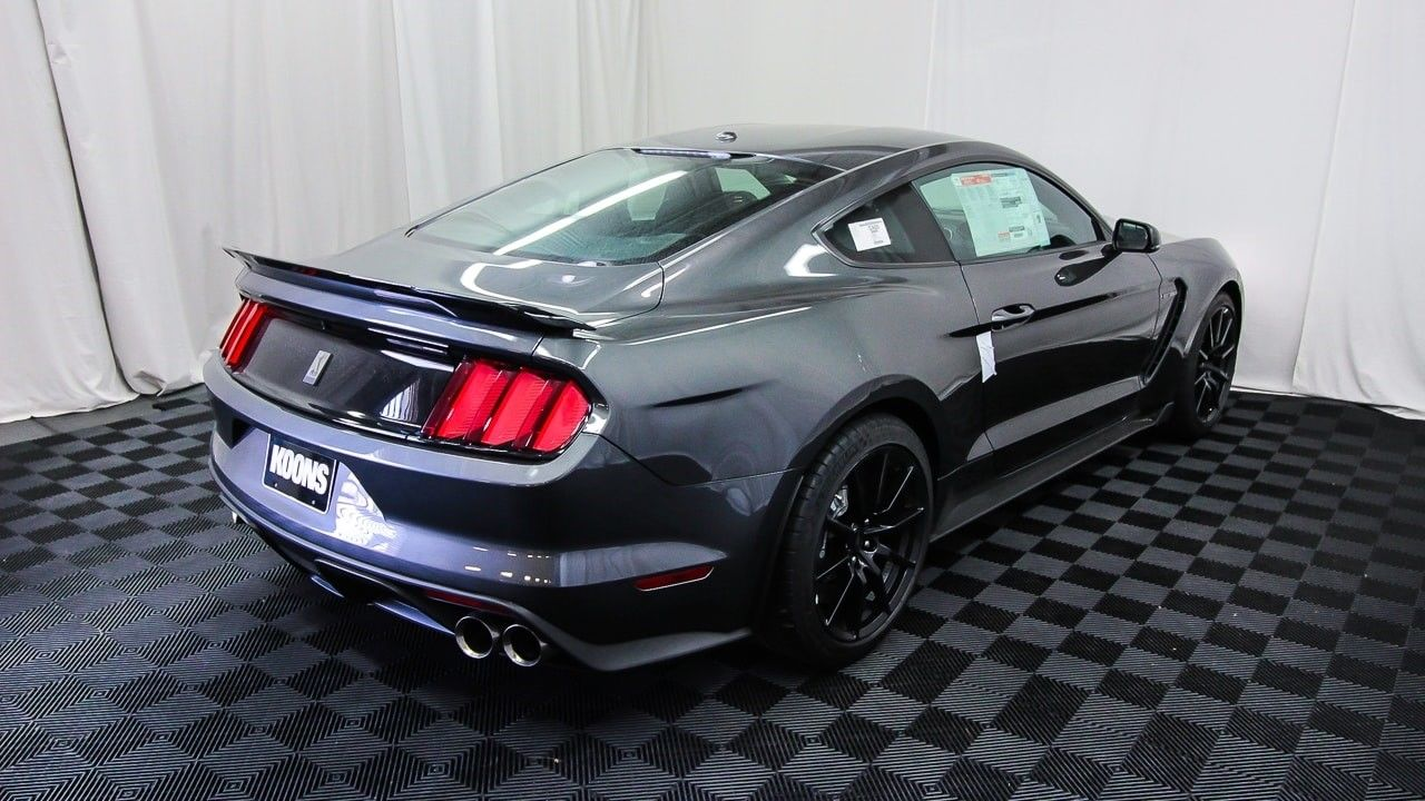 Great Mustang Shelby Gt350 Magnetic No Stripes