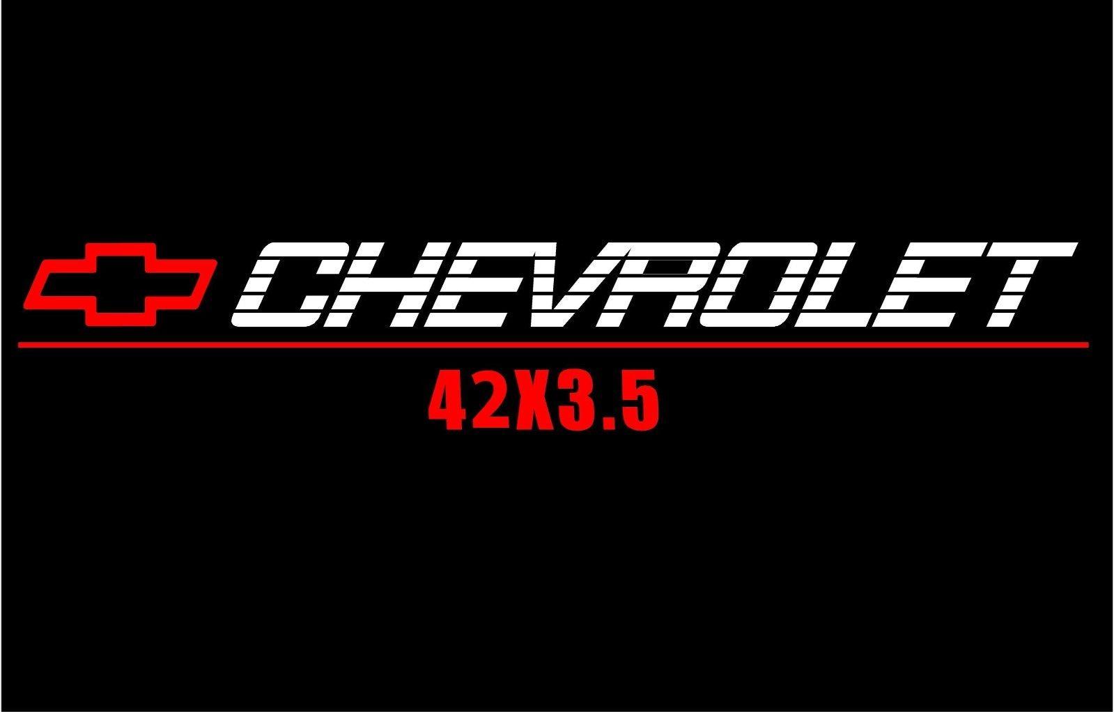 Chevrolet Window Decal Chevy Trucks Windshield Sticker