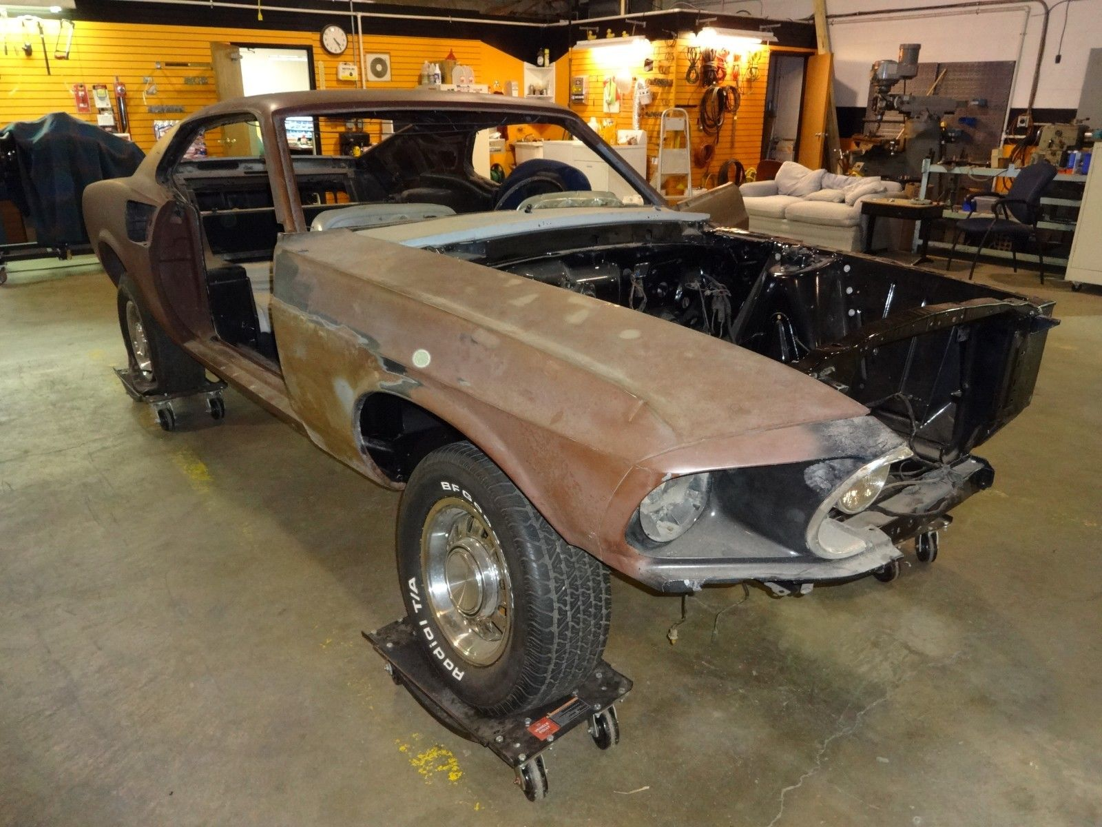 Amazing 1969 Ford Mustang Mach 1 1969 Mustang Mach 1 428 CJ Cobra Jet Q  Code 4 Speed Project 2 Cars 2018