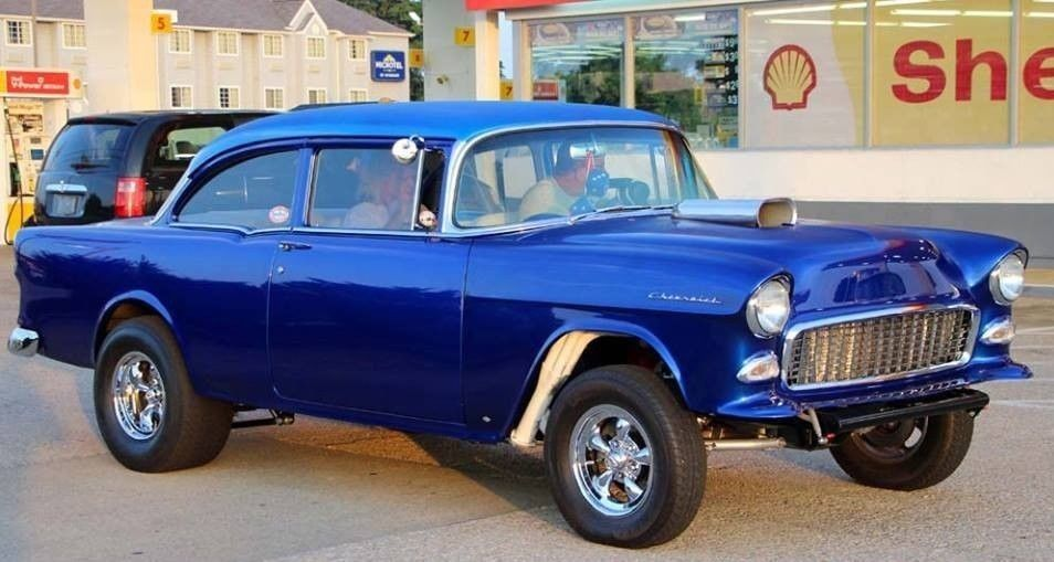 Awesome 1955 Chevrolet Bel Air/150/210 Hot rod 55 Chevy ...