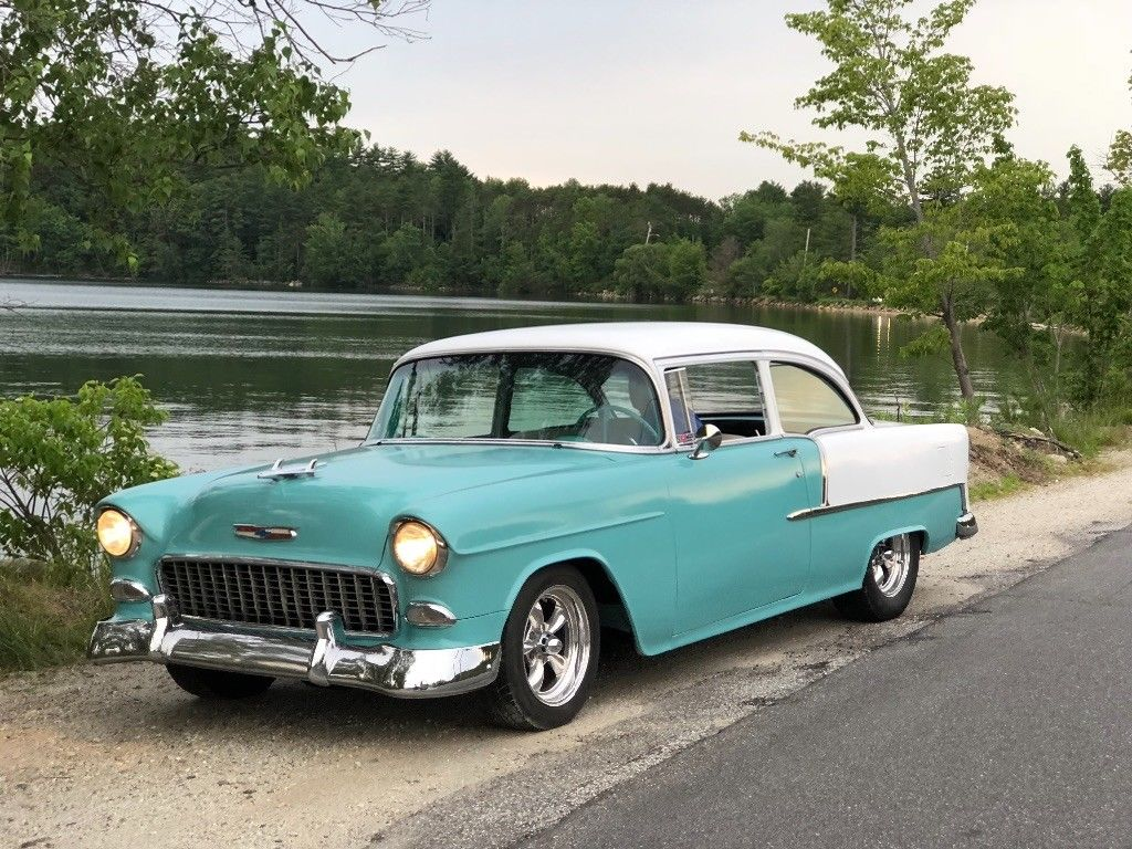 Great 1955 Chevrolet Bel Air 150 210 Very Solid Clean Driver Chevy 350 Sbc 4 Sod 2018 2019