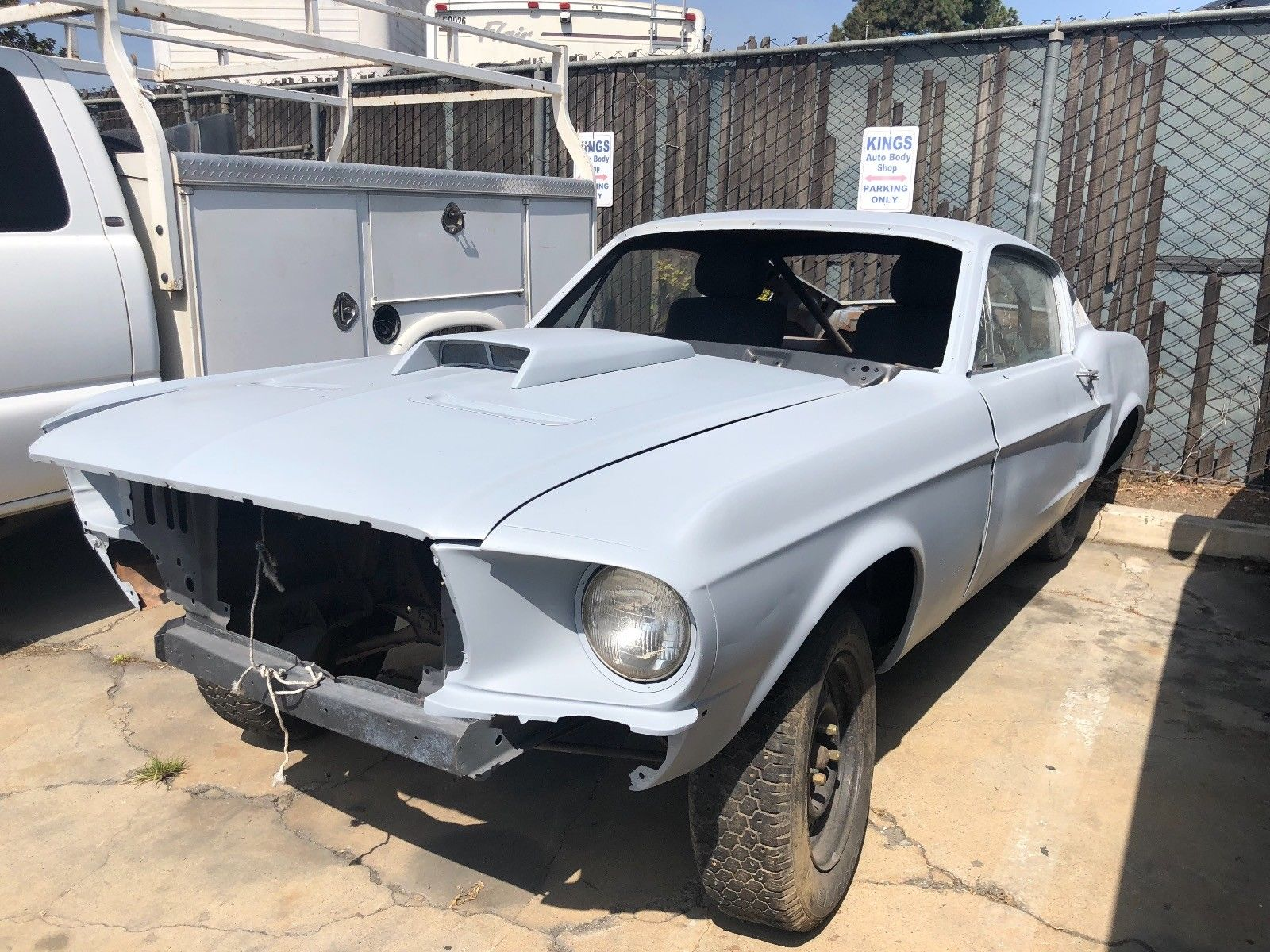 Amazing 1968 ford mustang gt 1968 ford mustang fastback rolling chassis solid project car 2019