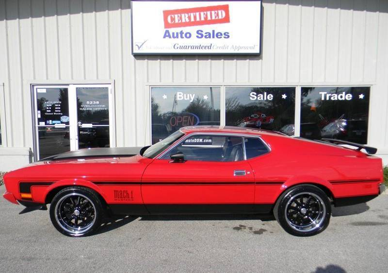 Amazing 1973 Ford Mustang Fastback 1973 Ford Mustang Mach 1 Fastback  Tribute 2018