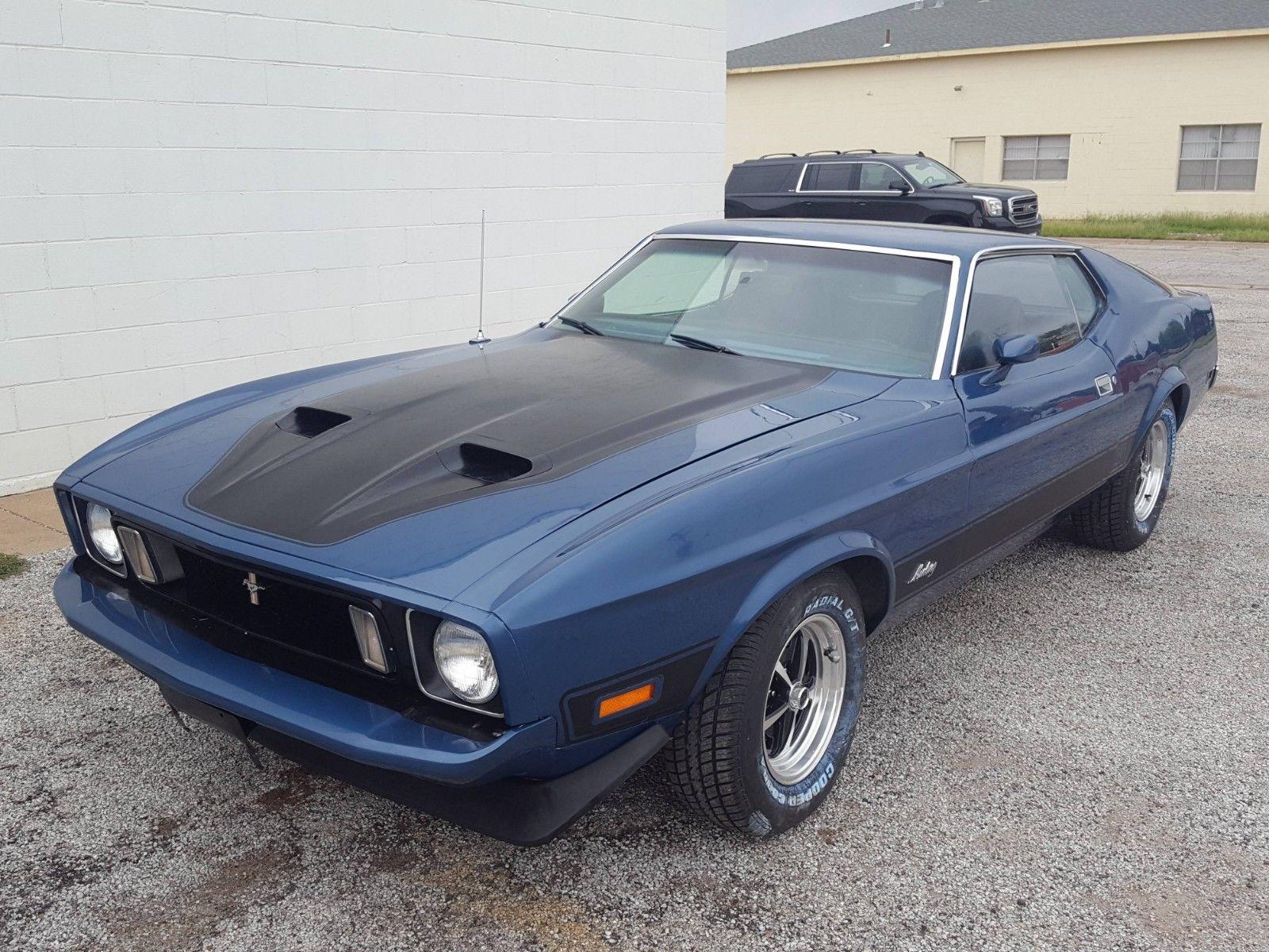 1973 Ford Mustang Fastback 351c Cobra Jet Ram Air Ac Ps Pb 2019 Mycarboard Com