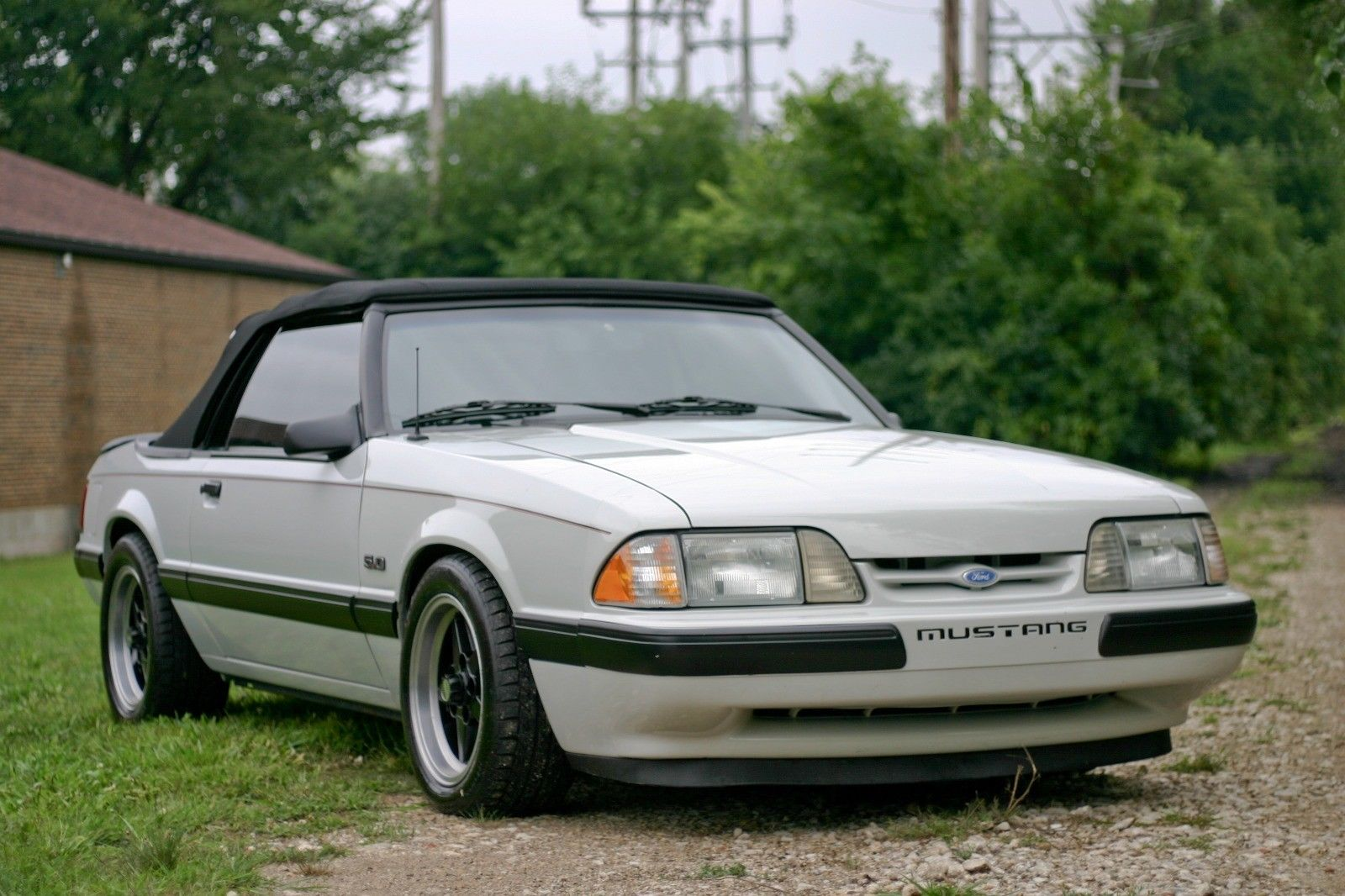 Great 1988 Ford Mustang Lx Foxbody Convertible