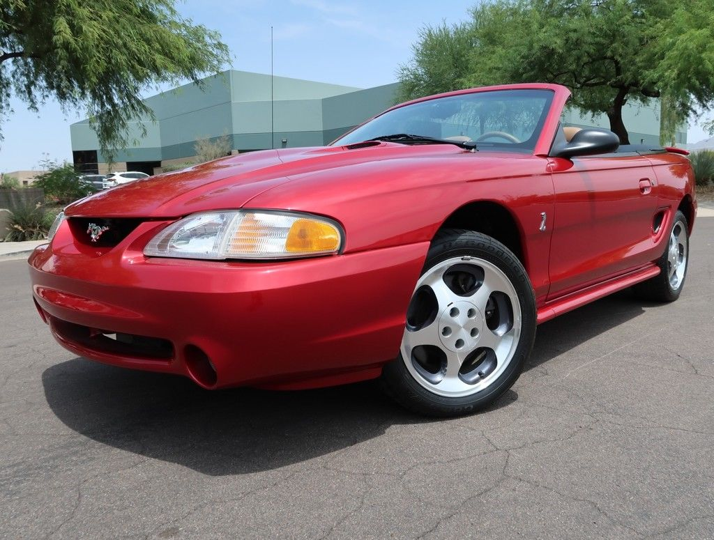 Amazing 1996 Ford Mustang Cobra Convertible Svt Low 648 Original Miles 1998 1997 1999 Gt 2019