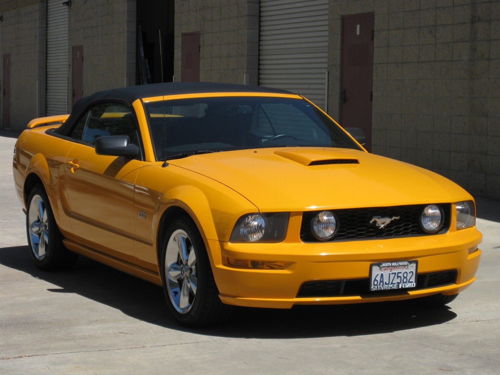 Awesome 2007 ford mustang 2007 ford mustang gt grabber orange low miles 2019
