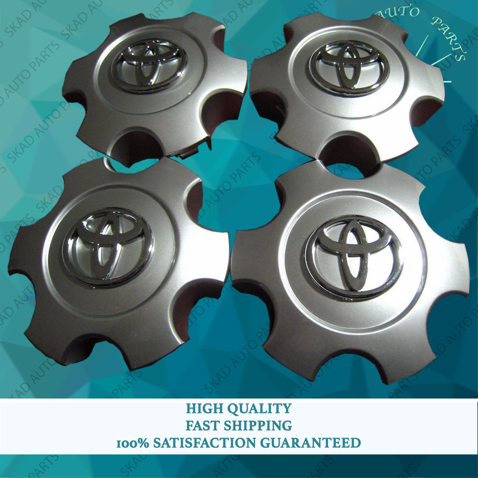 Toyota Tundra Center Caps >> Awesome 4 Wheel Center Caps Toyota Tundra Sequoia 2003 2007 17 Hubcap 42603420nm Silver 2018