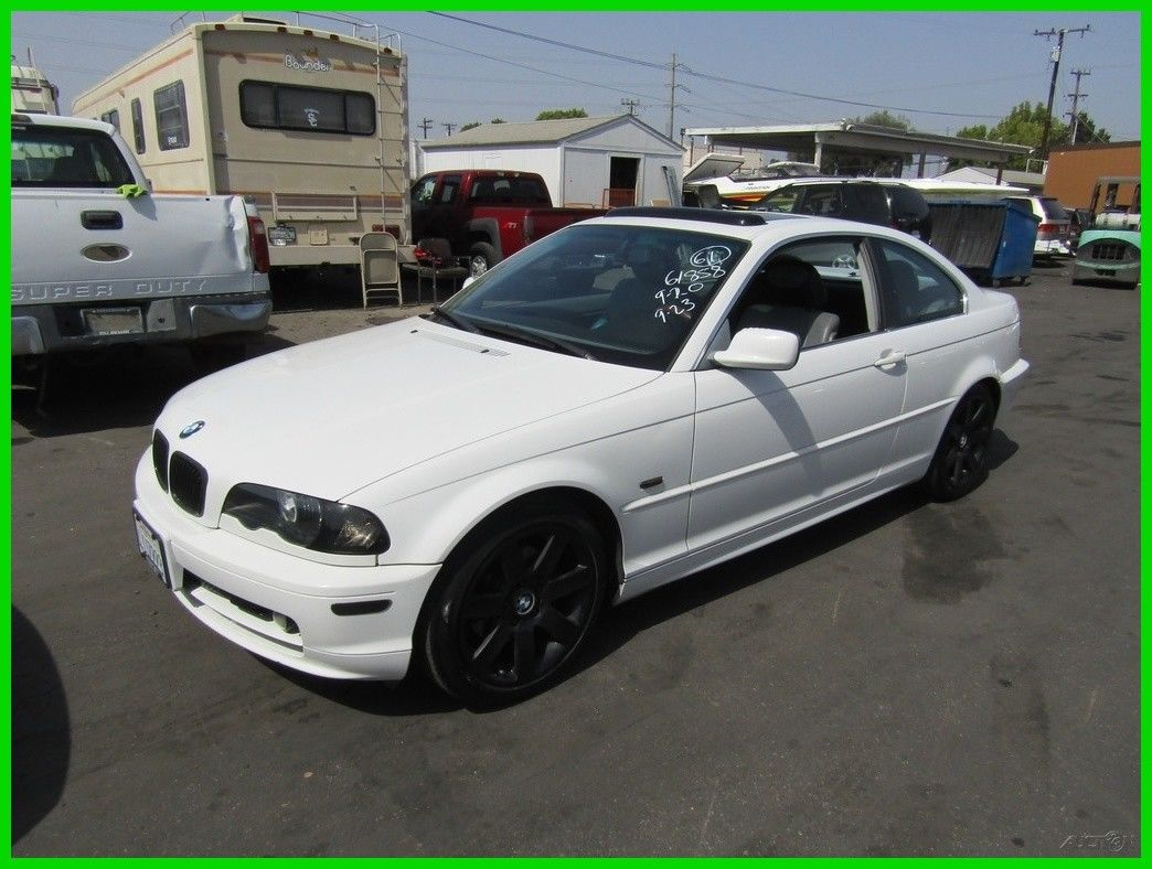Awesome Bmw 323 Ci C 2000 323ci Used 2 5l I6 24v Manual Coupe Premium No Reserve 2018