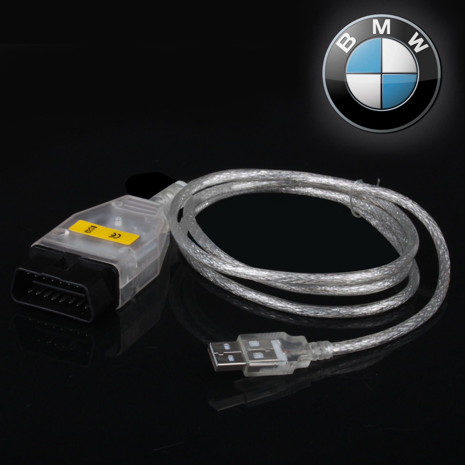 Amazing BMW INPA K+DCAN USB Interface OBD2 OBDII 16 Pin Car Diagnostic Tool  Cable 2018-2019