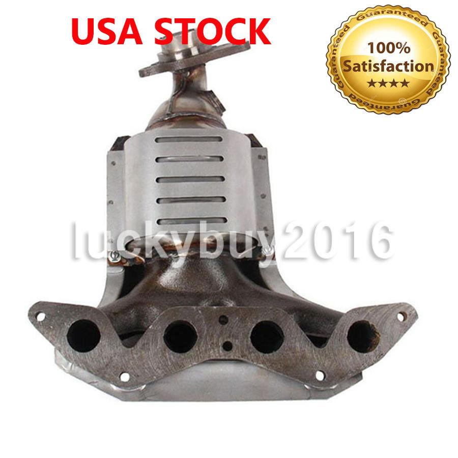 Exhaust Manifold w// Catalytic Converter for Honda Civic 2001-2005 1.7L L4 SOHC