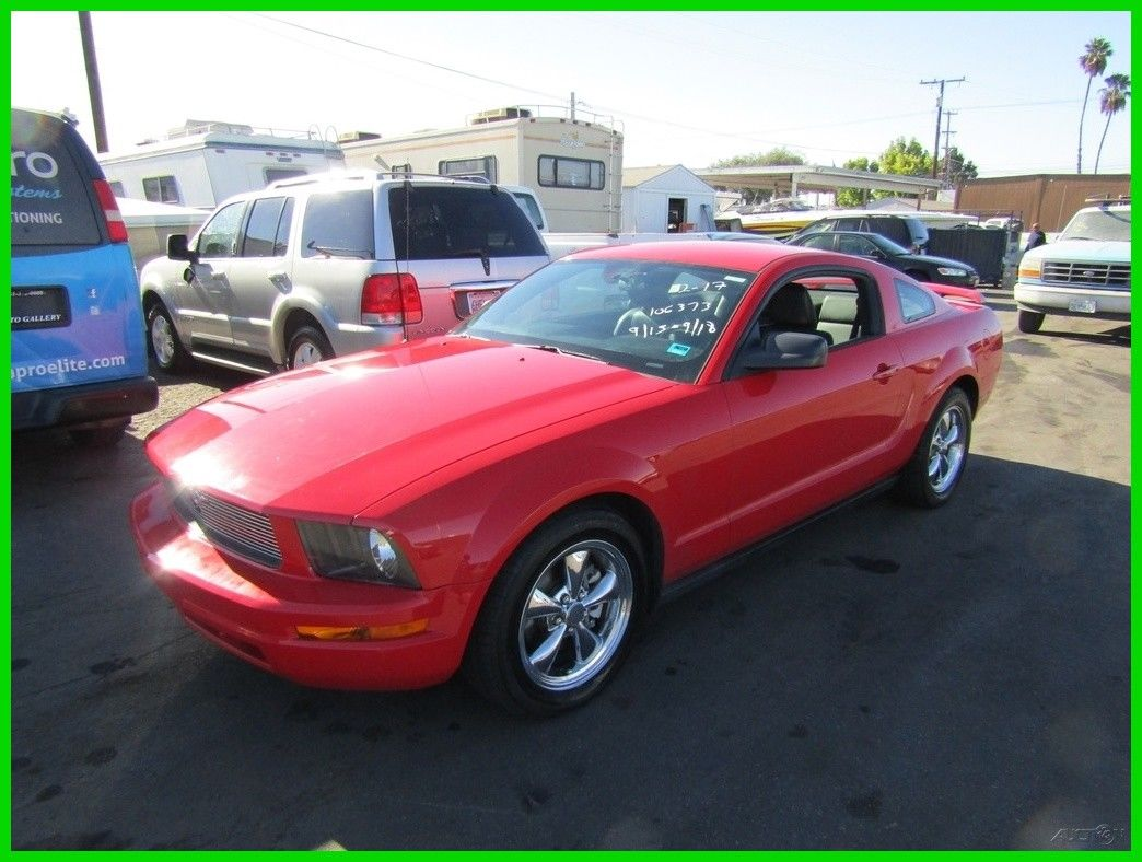 Amazing ford mustang v6 2006 ford mustang v6 used 4l v6 12v automatic coupe no reserve 2019