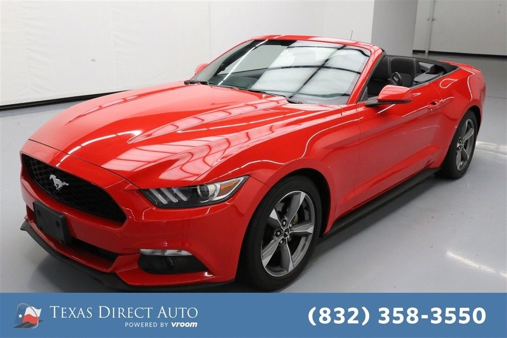 Great Ford Mustang V6 Texas Direct Auto 2016 Used 3 7l 24v Automatic Rwd Convertible 2019