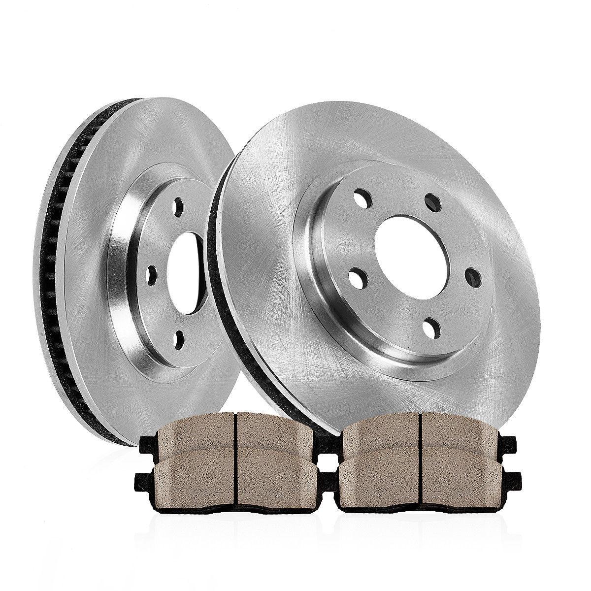 Rear Brake Rotors Ceramic Pads For HONDA ODYSSEY 2005 2006 2007 2008 2009 2010