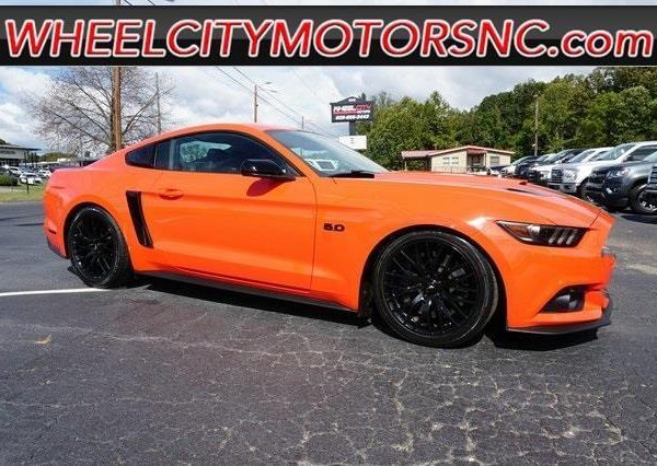 Orange 2015 Mustang >> Awesome Mustang Gt Premium 2015 Ford Mustang Gt Premium 27 057 Miles Competition Orange 2dr Car 8 Cylinder 2019