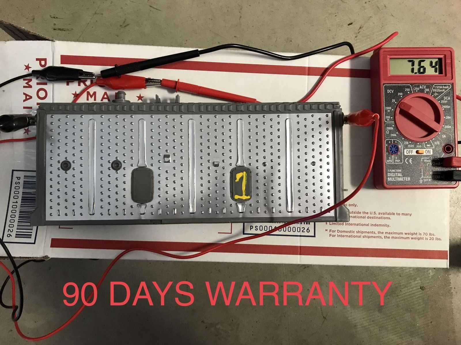 Awesome Toyota Prius Hybrid Battery Cell Nimh Module 2004 2005 2006 2007 2008 2009 2018