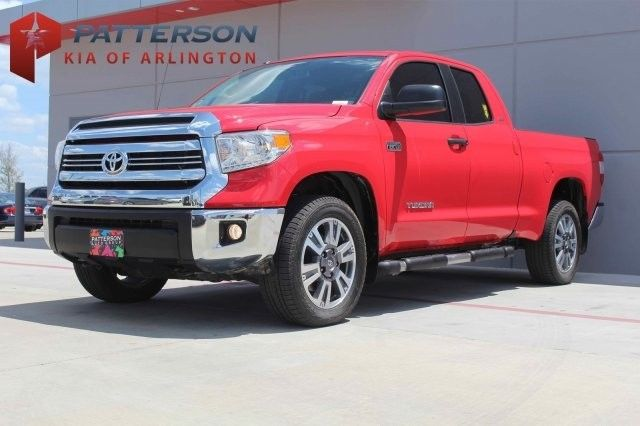 Great Tundra Sr5 2016 Toyota 48 976 Miles Red Crew Cab Pickup Regular Unleaded V 8 5 7 2018 2019