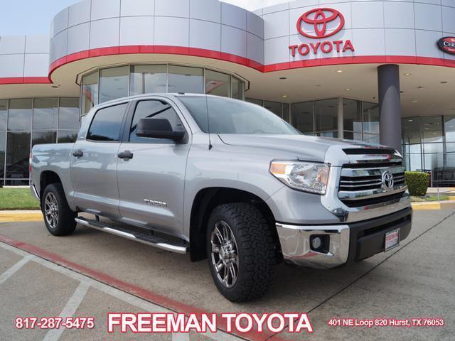 Amazing Tundra Sr5 2016 Toyota 6967 Miles Silver 4 2 4dr Crewmax Cab Pickup Sb 6l 2018 2019