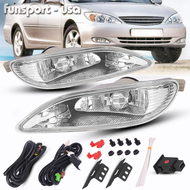 amazing for 2005 2008 toyota corolla bumper lamp clear fog lightamazing for 2005 2008 toyota corolla bumper lamp clear fog light pair switch wiring kit 2018 2019