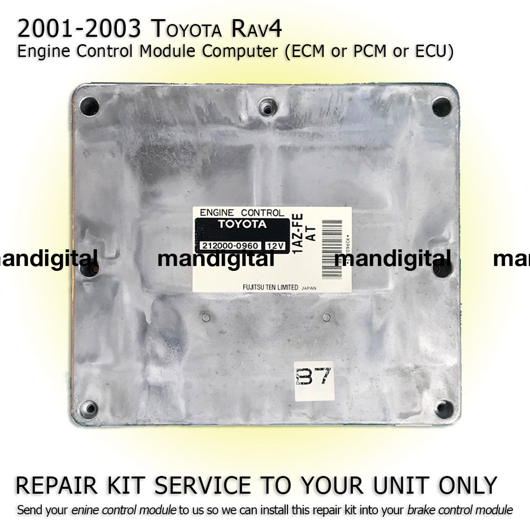 Used 2001 2002 2003 TOYOTA RAV4 Engine Computer Module PCM