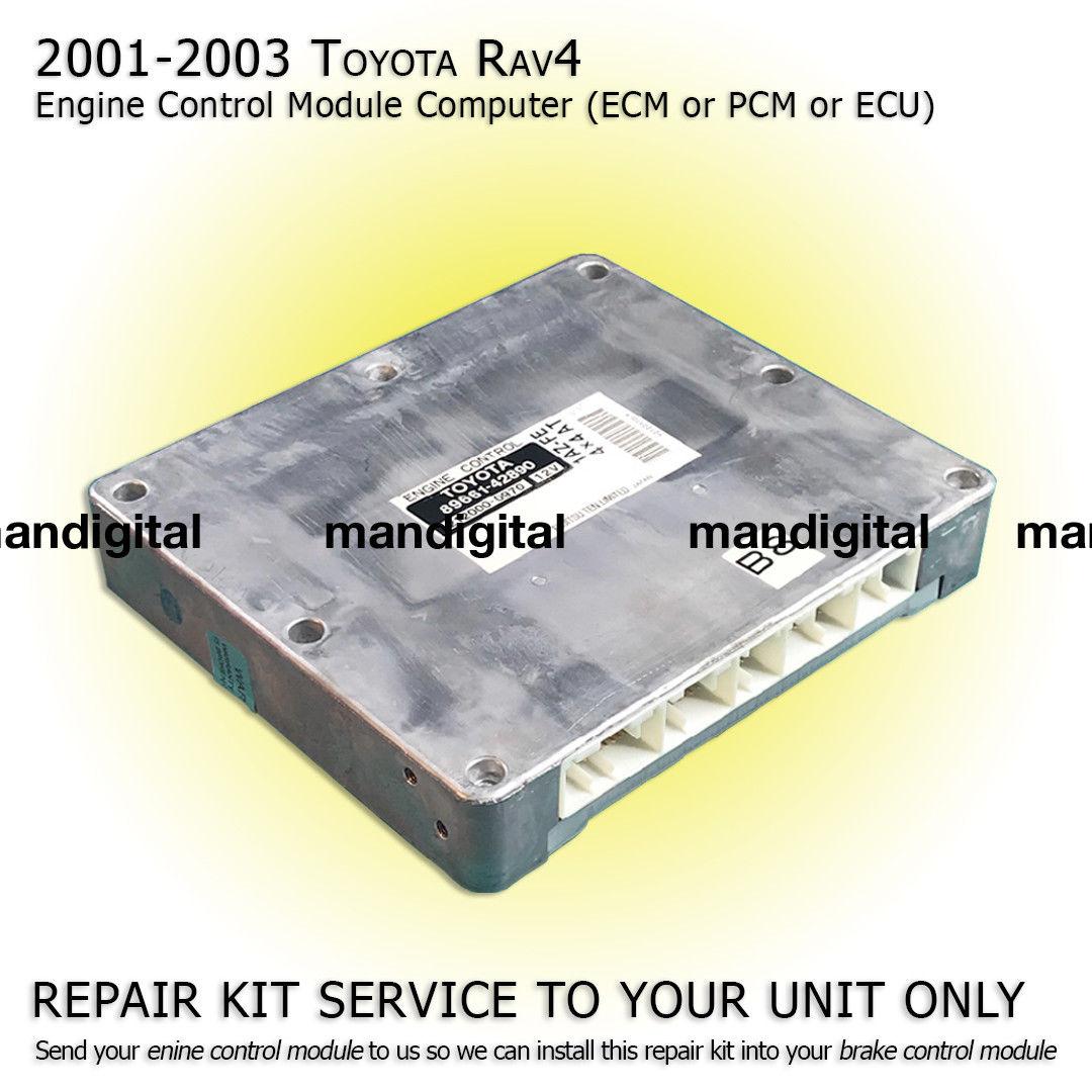 Amazing 2001 2002 2003 TOYOTA RAV4 Engine Computer Module PCM ECM ECU  Repair Service 2019
