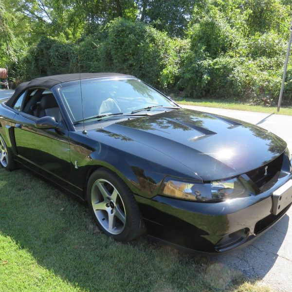 """Awesome 2003 Ford Mustang COBRA """"474HP SUPER/CHARGED BLACK"""