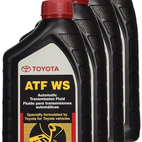 Great 4 Quart GENUINE TOYOTA ATF WS Automatic Transmission Oil Fluid ATFWS  Lexus Scion 2018-2019