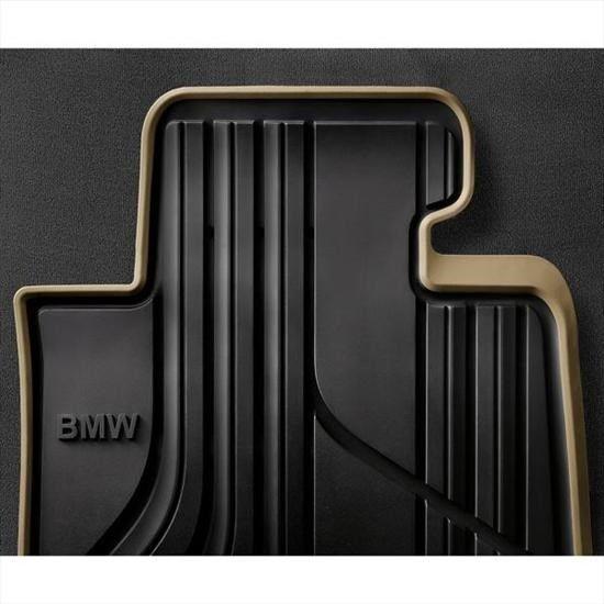 Bmw Beige Rubber Floor Mats Set 2012 2017 Sdns 320i 328i Front