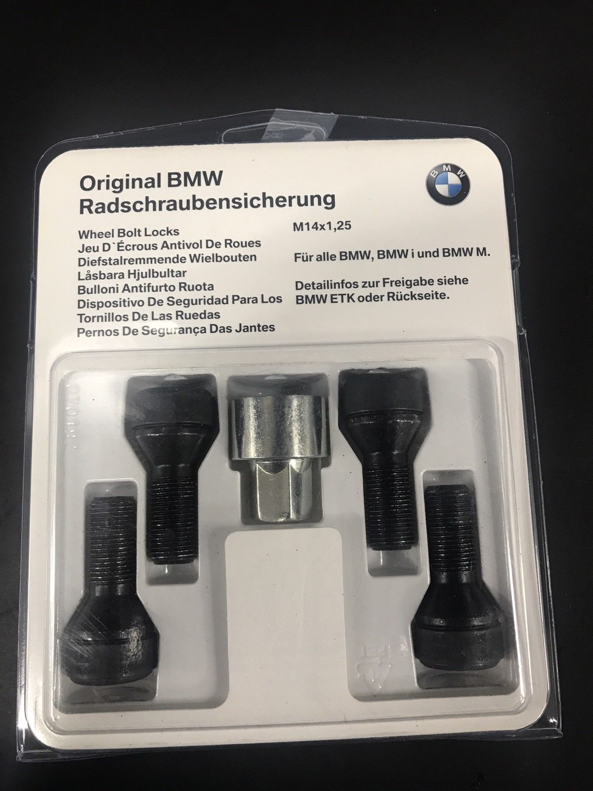 Amazing Bmw Oem Wheel Lock Set 36136792851 2019 Mycarboard