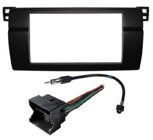 Great Double Din Aftermarket Radio Install Kit Wire Harness Adapter