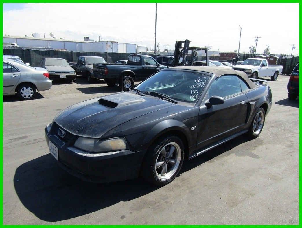 Awesome Ford Mustang Gt 2003 Used 4 6l V8 16v Automatic Convertible No Reserve 2018