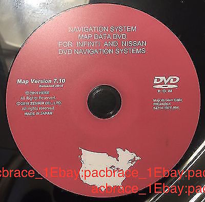Awesome Nissan / Infiniti 2015 Navigation Map Update DVD V7 10 Latest &  Last Release 2018-2019