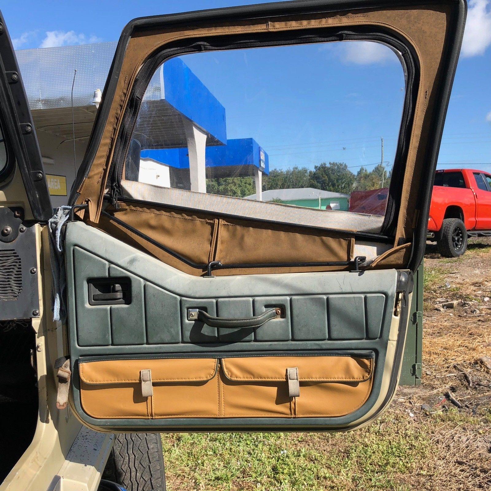 2018 Camry Le >> Awesome 1992 Jeep Wrangler Sahara Edition 1992 AMC JEEP ...