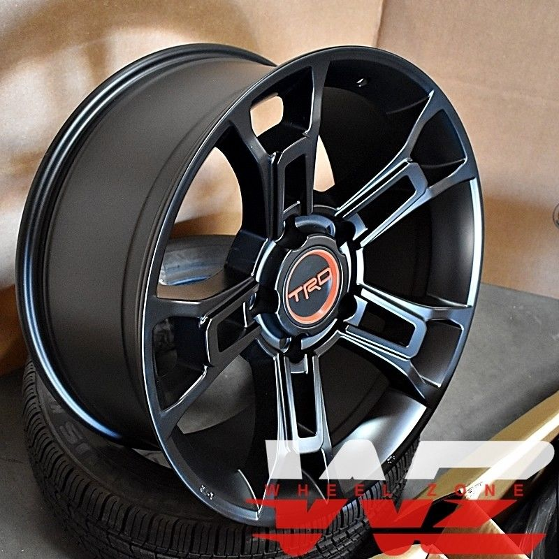 Great 20 2019 Trd Style Satin Black Wheels Fits Toyota