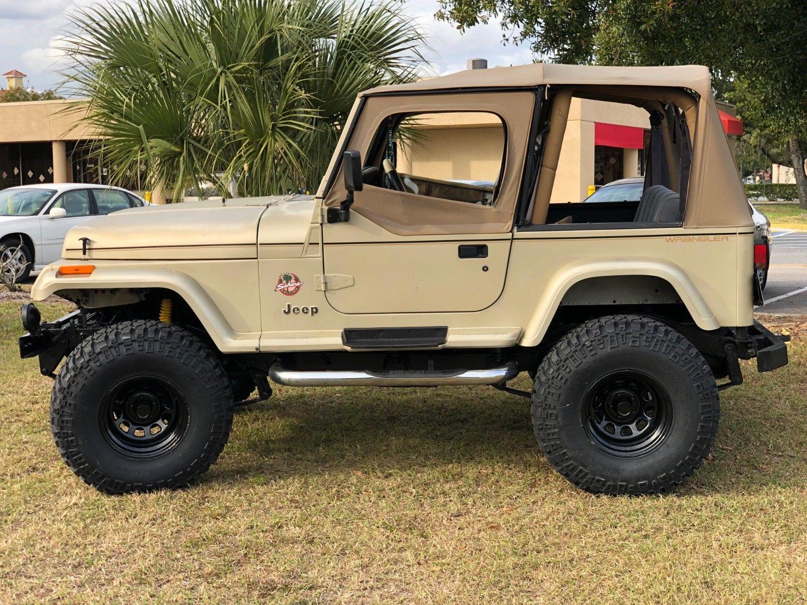 awesome 1992 jeep wrangler sahara edition 1992 amc jeep wrangler (yj