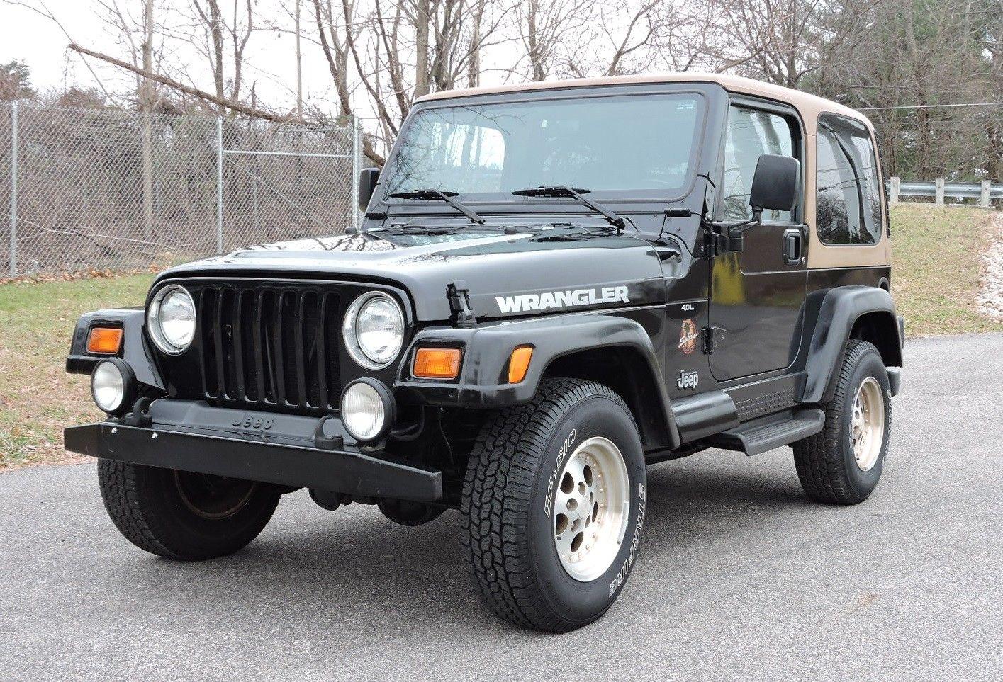 Awesome 1997 Jeep Wrangler 4 0 Sahara 4wd Both Tops 1997
