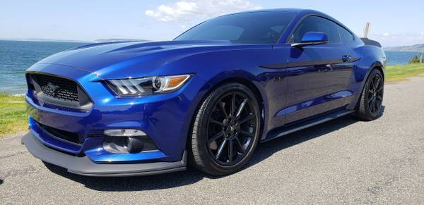 Great 2016 Ford Mustang Gt Premium Automatic Modified Nicely 25k Miles 2018 2019