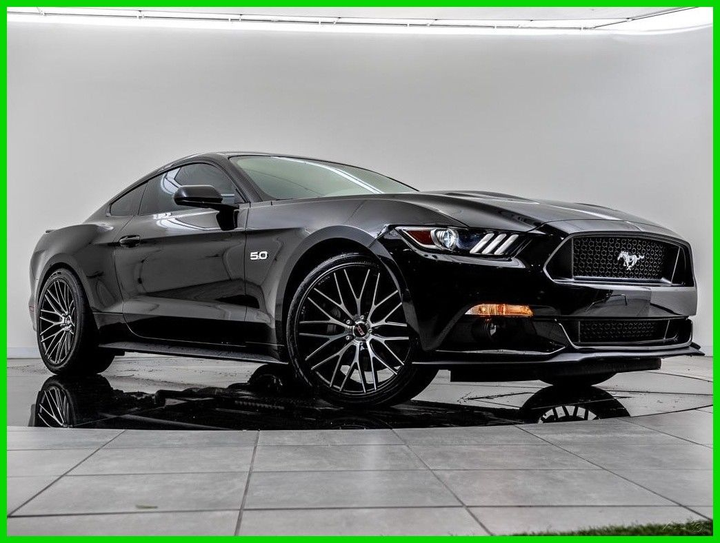 Awesome 2017 Ford Mustang Gt 5l V8 32v Automatic Rwd Coupe Premium 2018 2019