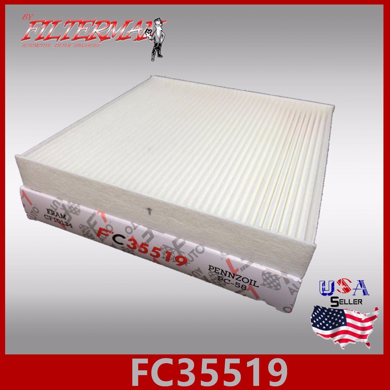 FC35519 CAF1781 CABIN AIR FILTER: ACURA CSX ILX MDX RDX RL