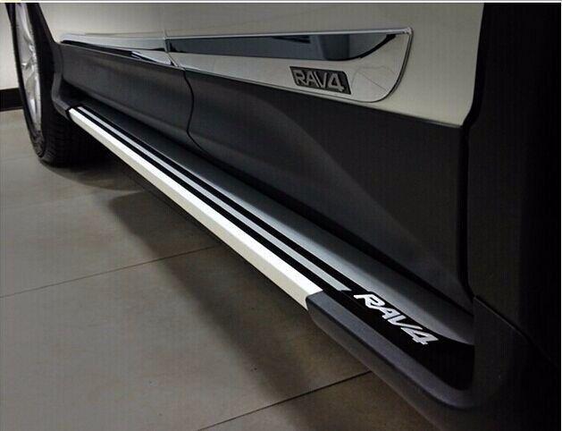 Used aluminium fit FOR Toyota RAV4 2013 2018 running board